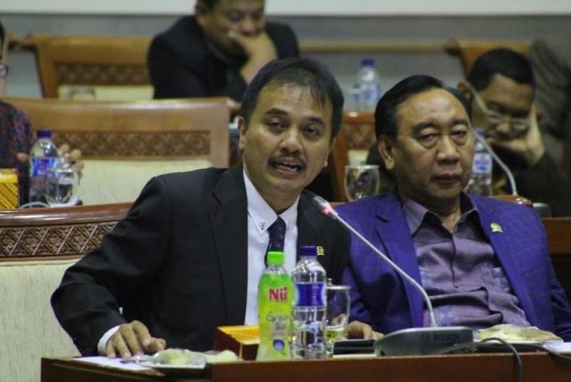 Anggota DPR RI dari Fraksi Partai Demokrat Roy Suryo.