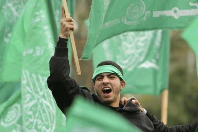 Anggota Hamas.