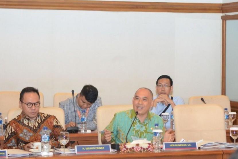 Anggota Komisi IX DPR RI, Heri Gunawan.