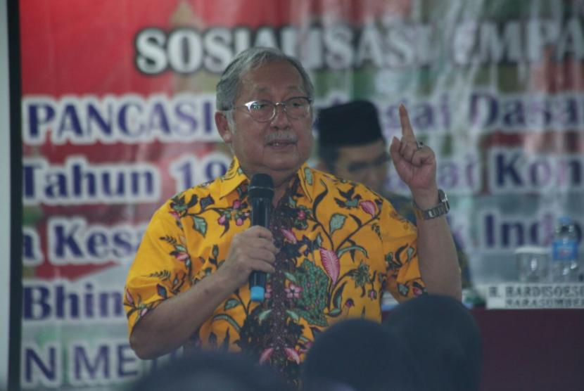 Anggota Majelis Permusyawaratan Rakyat (MPR) dari Fraksi Partai Golkar, Hardi Susilo.