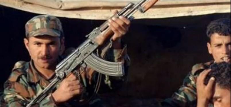 Anggota militer Suriah/Ilustrasi