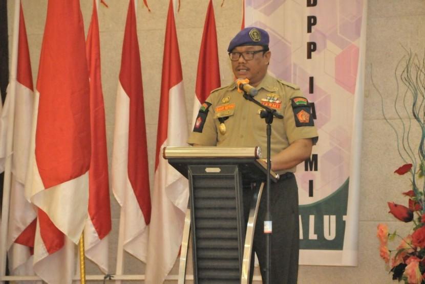 Anggota MPR dari Kelompok DPD, Bahar Ngitung.