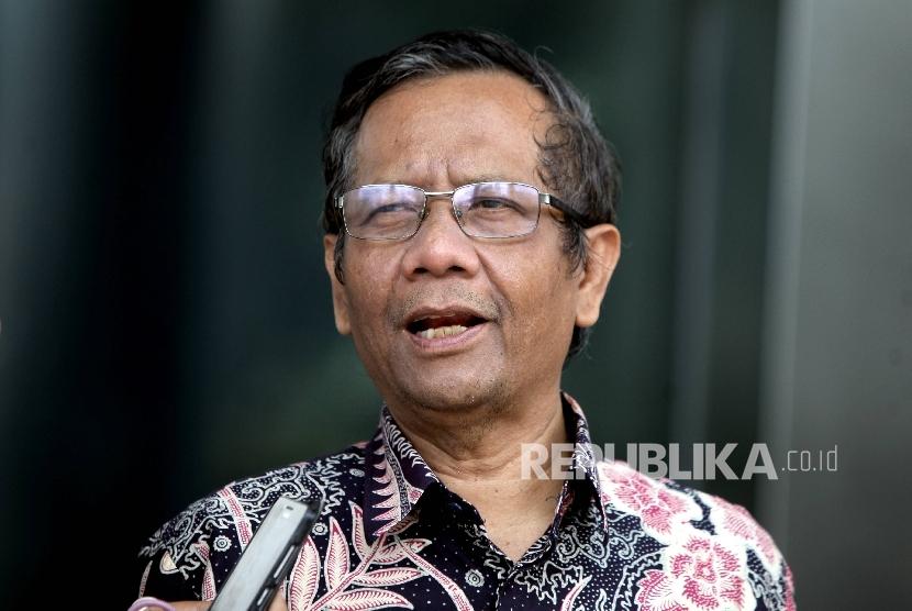 Anggota Panitia Seleksi Pemilihan Penasihat KPK Mahfud MD