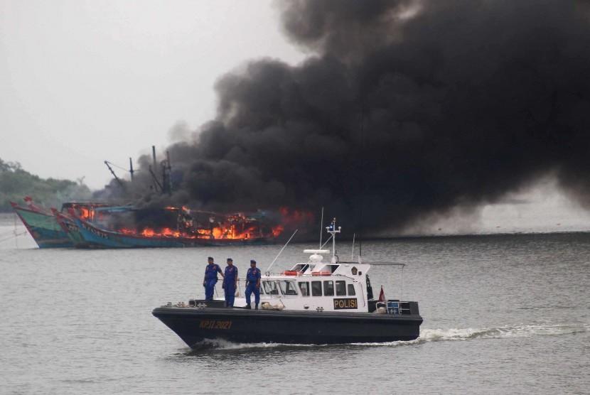 Sri Mulyani akan Bantu Penanganan Aset Kapal Asing Ilegal