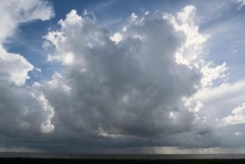 Angin dan awan (ilustrasi)