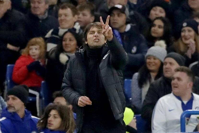 Conte: Kemampuan Cetak Gol Jadi Masalah Terbesar Chelsea
