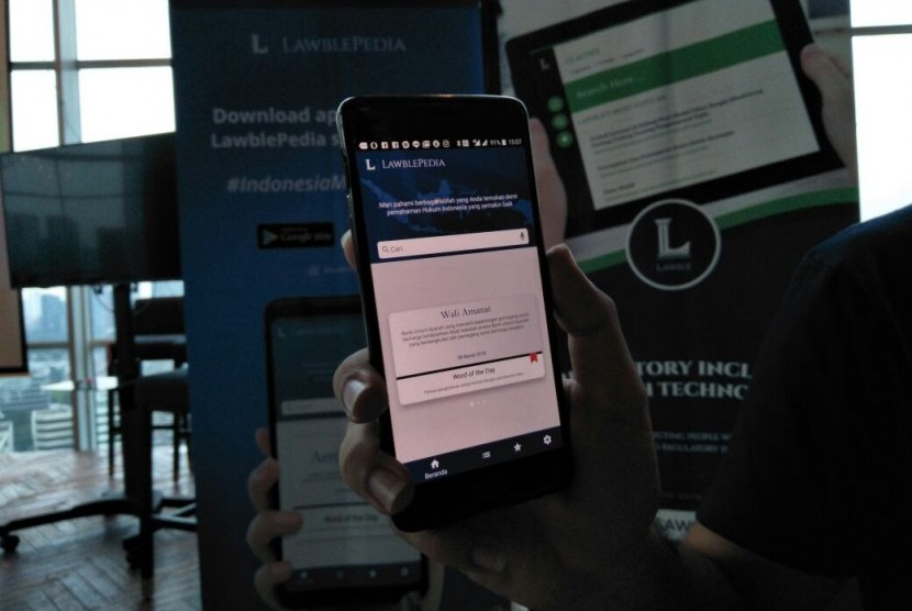 Aplikasi Lawblepedia.