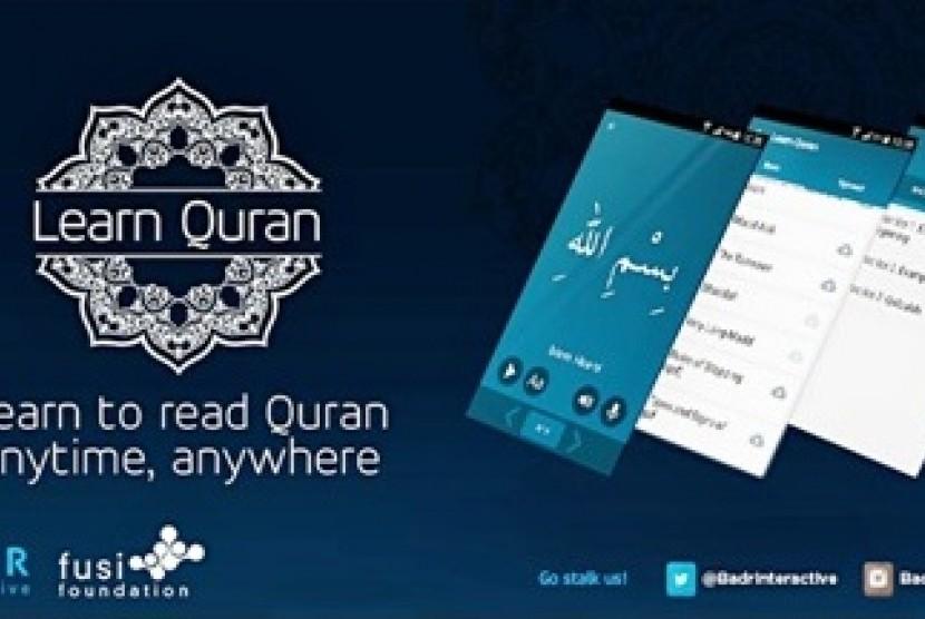 Aplikasi Learn Quran (Ilustrasi)