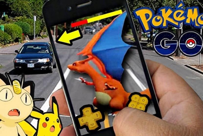 Aplikasi Pokemon Go Ilustrasi