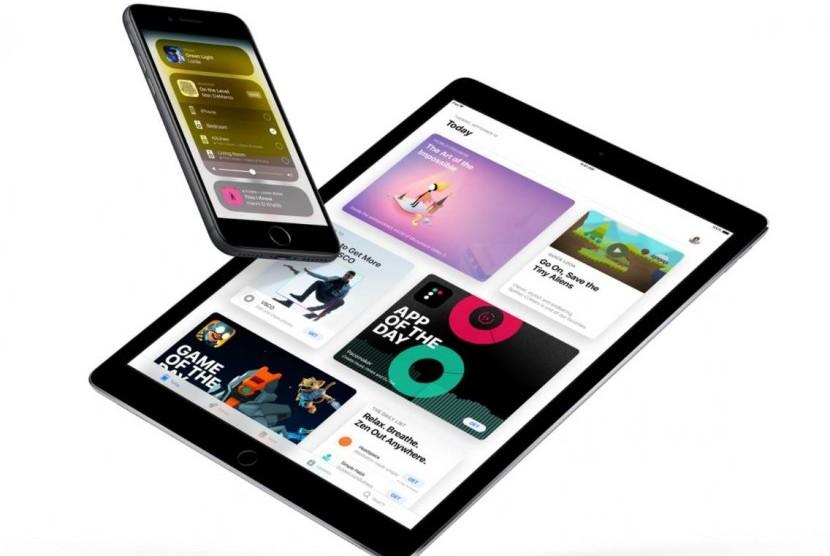 Apple. Ilustrasi