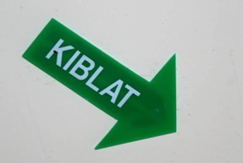 Arah Kiblat - ilustrasi