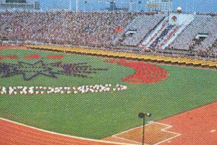 Asian Games 1978 Bangkok, Thailand.