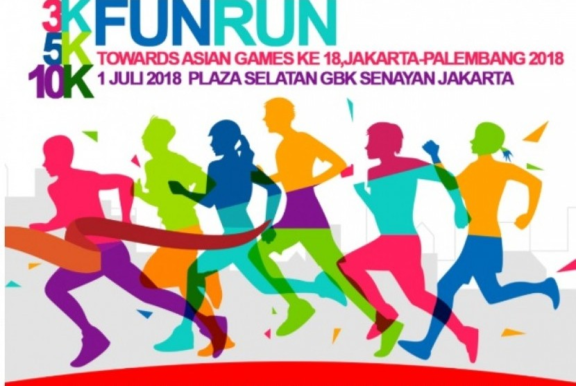 Asian Games Fun Run 2018 Jakarta