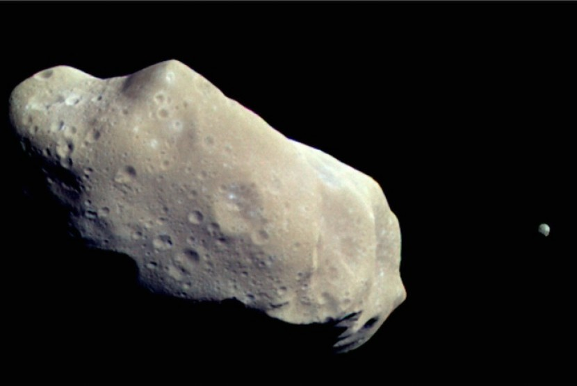 Asteroid (ilustrasi)