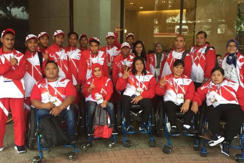 Indonesia Pimpin Klasemen Sementara ASEAN Para Games