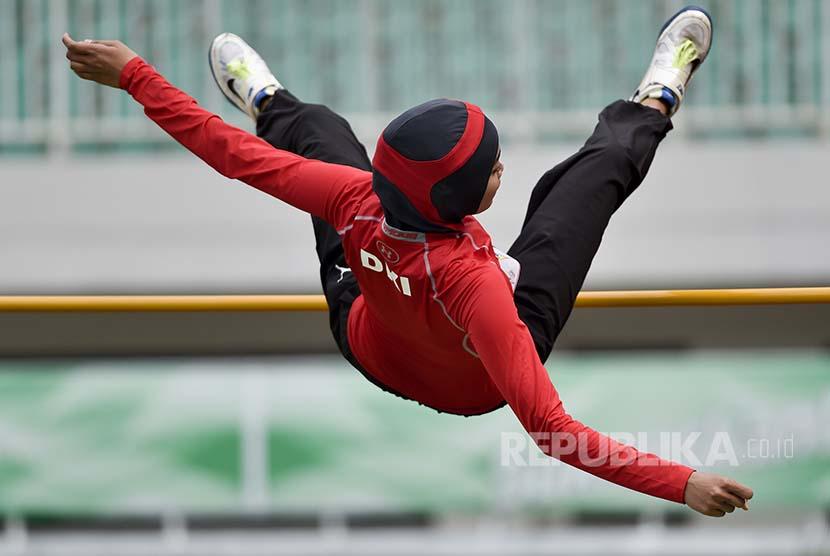 Nadia Bidik Lompatan 1,8 Meter demi Asian Games
