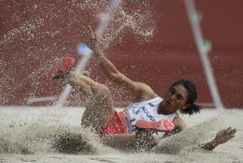 Atlet Indonesia Maria Londa.