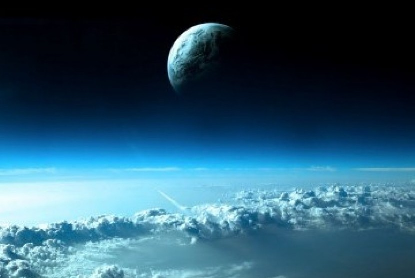 Atmosfer bumi (ilustrasi).
