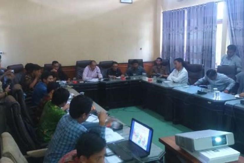 Audiensi Komda Apmi Sumenep dengan DPRD Kabupaten Sumenep