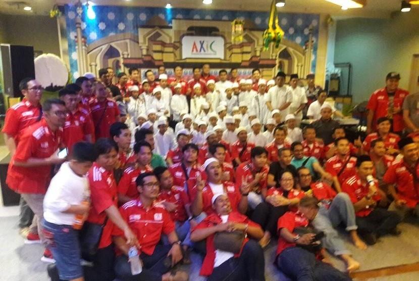 AXIC gelar buka bersama dan santunan sosial anak Yatim-Piatu
