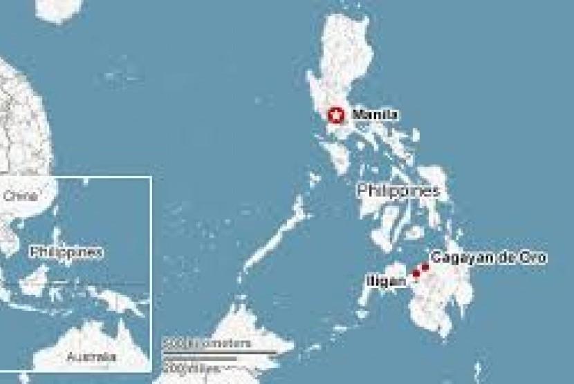 Korban Tewas Badai Siklon Tembin Filipina Capai 200 Orang