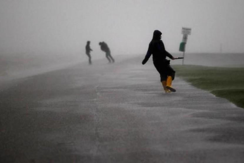 Badai melanda Jerman (ilustrasi)