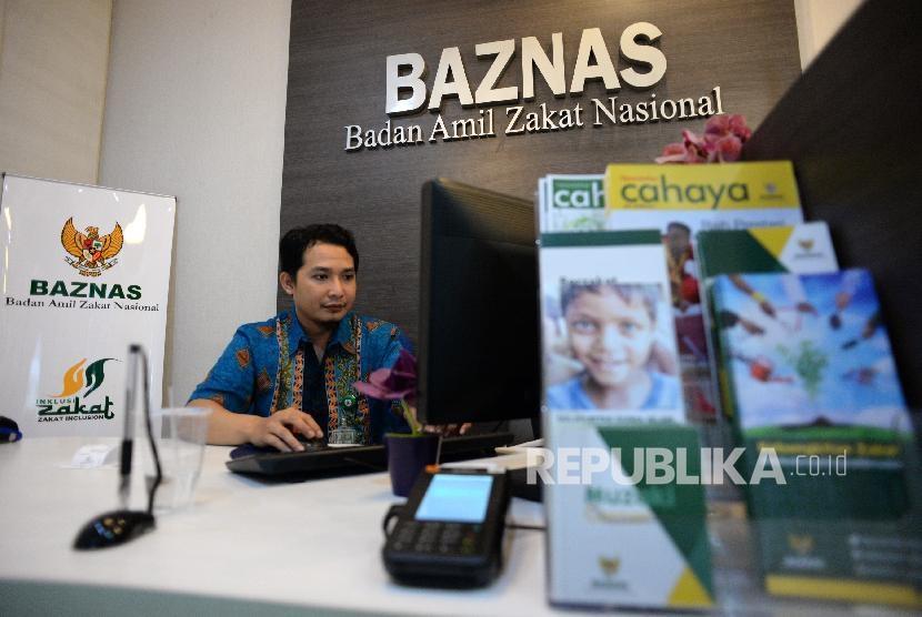 Badan Amil Zakat Nasional atau Baznas (ilustrasi)