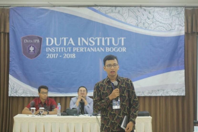 Bagas Aji Prabowo, Duta Institut IPB.