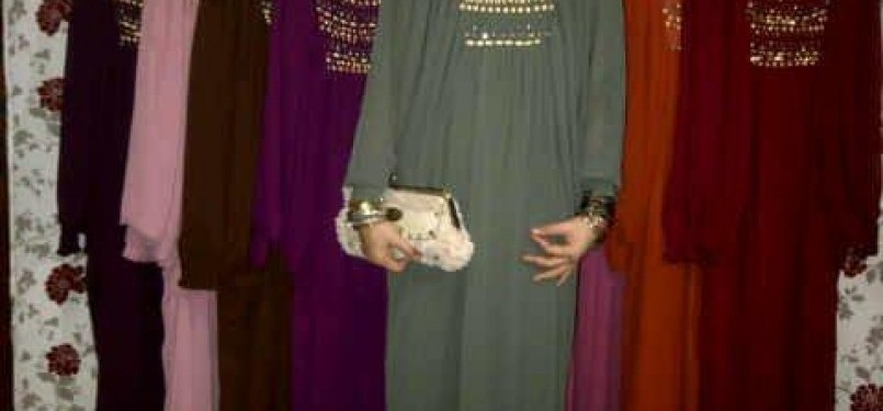 Baju Muslimah ala Syahrini