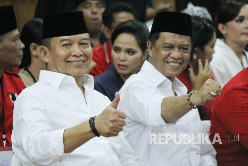 TB Hasanuddin dan Anton Charlian tak Tegang Diterima KPU