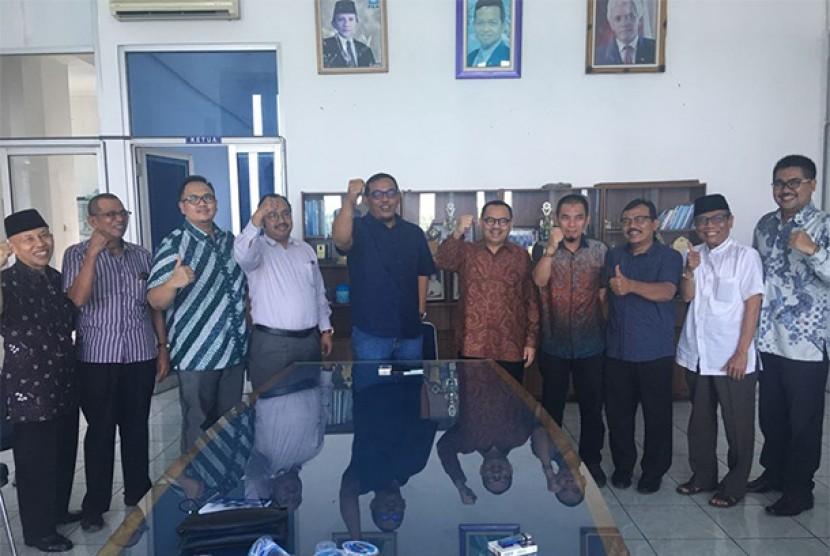 Balongub Jateng Sudirman Said bersama jajaran pengurus DPW PAN Jateng