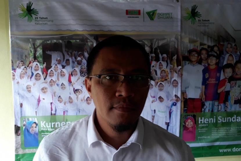 Bambang Suherman Pimpin Forum Zakat