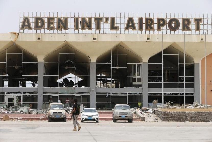 Bandara internasional Yaman.