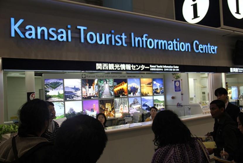 Bandara Kansai, Osaka, Jepang menjadi salah satu pintu masuk wisatawan ke Jepang.