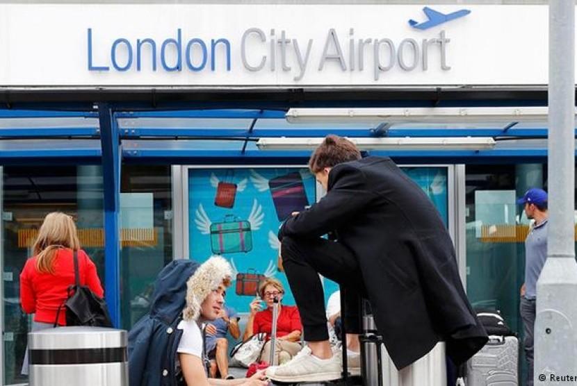 Bandara London City di Inggris.