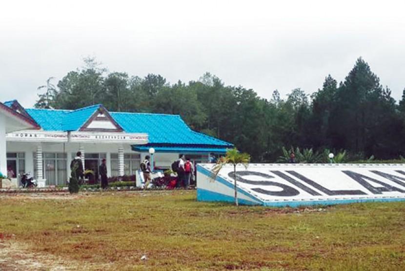 Bandara Silangit. Ilustrasi