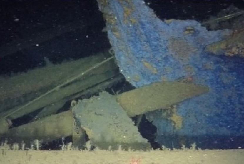 Bangkai kapal Itata, Titanic-nya Cili yang tenggelam pada 1922.