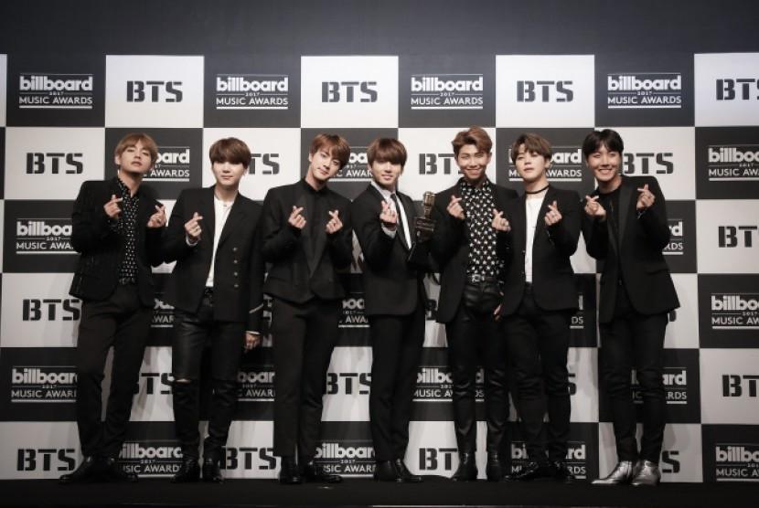 BTS dan EXO Dinominasikan iHeartRadio Music Awards 2018