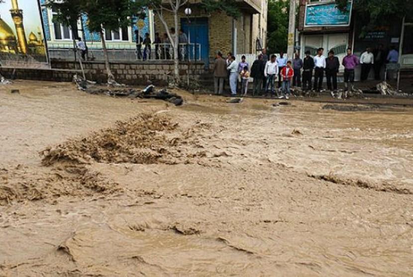 Banjir Bandang / Ilustrasi