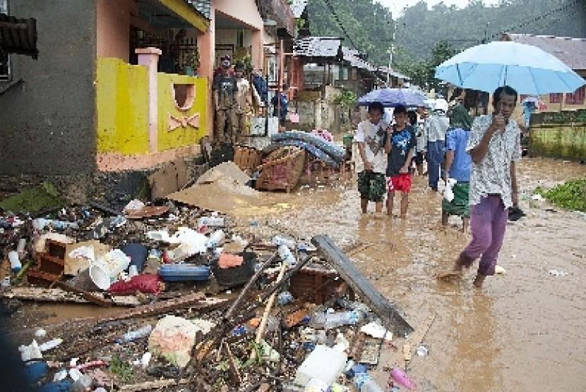 Banjir di Ambon