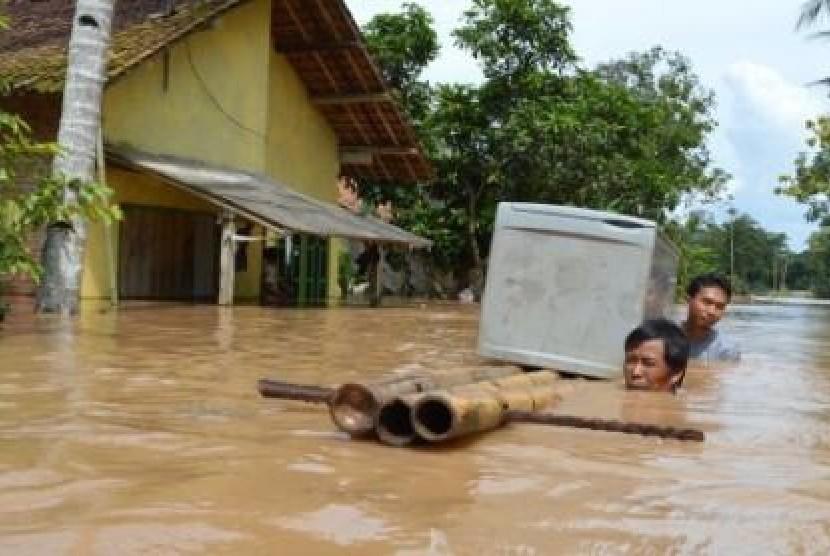 Banjir (ilustasi)