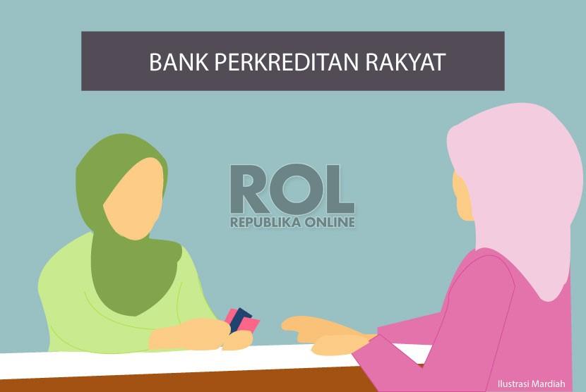 Bank Perkreditan Rakyat ( ilustrasi )