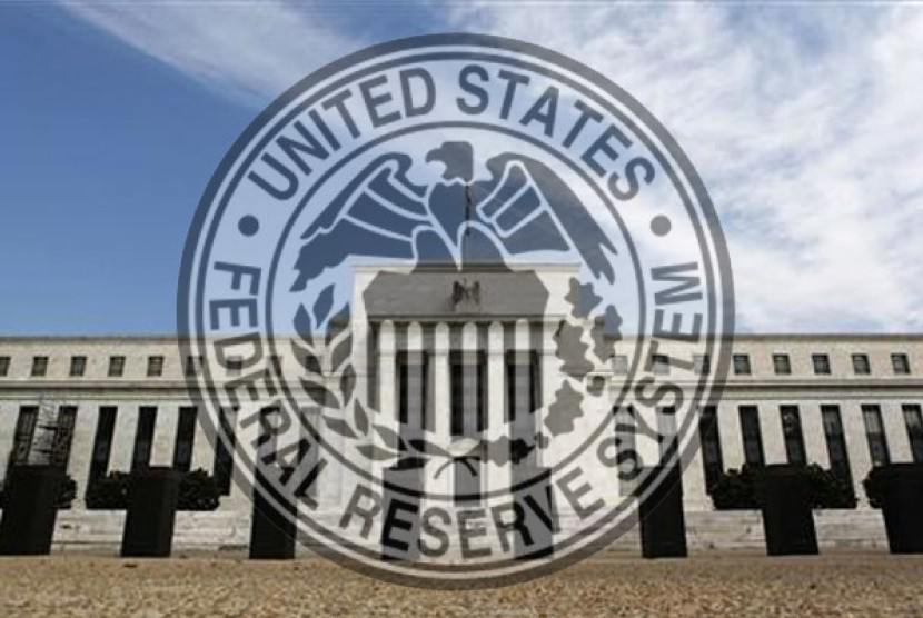 Bank Sentral Amerika. Ilustrasi.