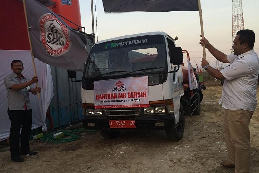 Bantuan CSR PT Semen Indonesia.