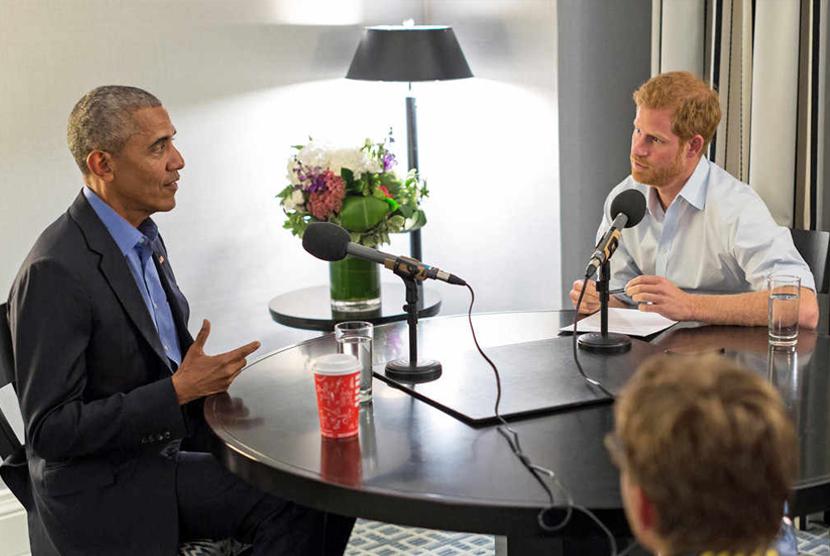 Pangeran Harry Puji Obama Pilih Serial TV Suits