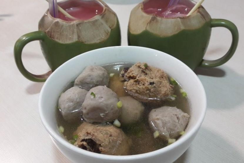 Baso Ati Raja, kuliner asal Makassar.