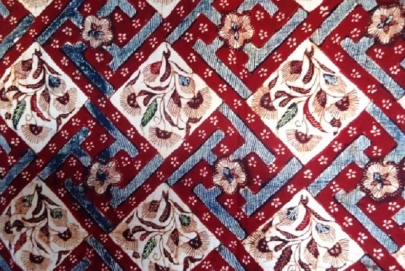 Batik gentongan, produk andalan batik Madura| Republika.co.id