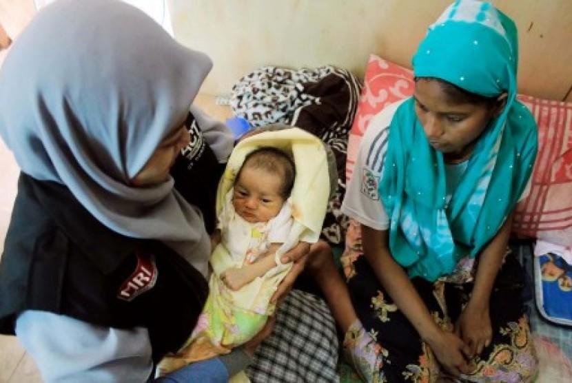 Duh, 150 Bayi Pengungsi Ada di Perbatasan Myanmar-Bangladesh