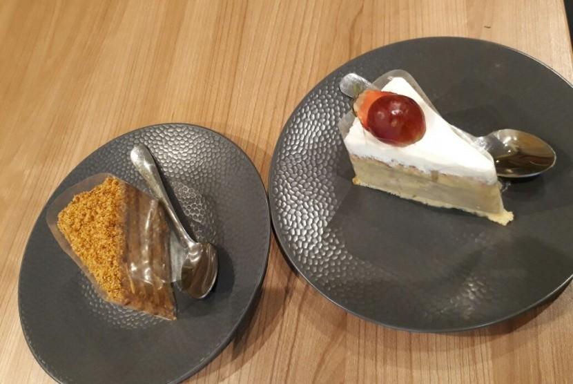 Beberapa kue andalan Ann's Bakehouse & Creamery.