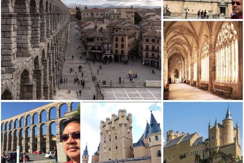 Beberapa model peninggalan penguasa Islam di Spanyol yang sebut Damascening.